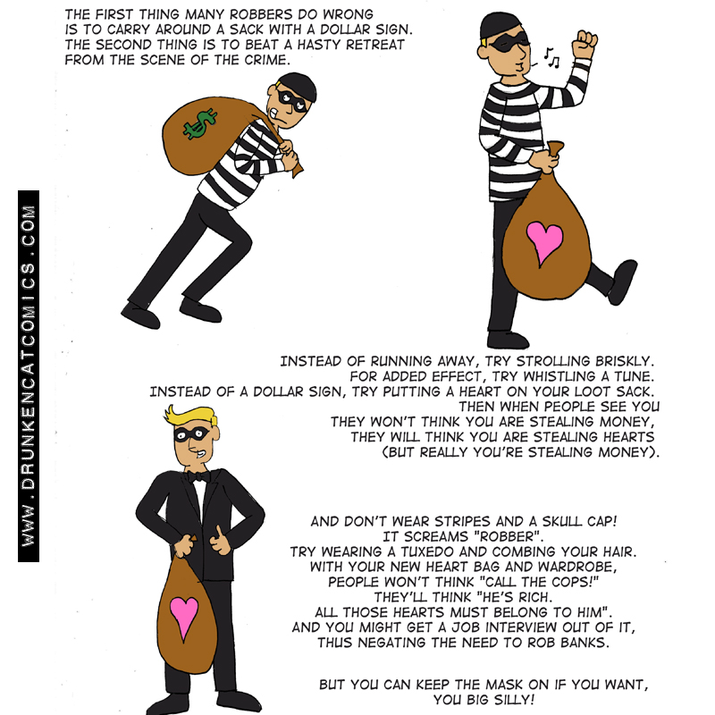 How To Be A Better Robber