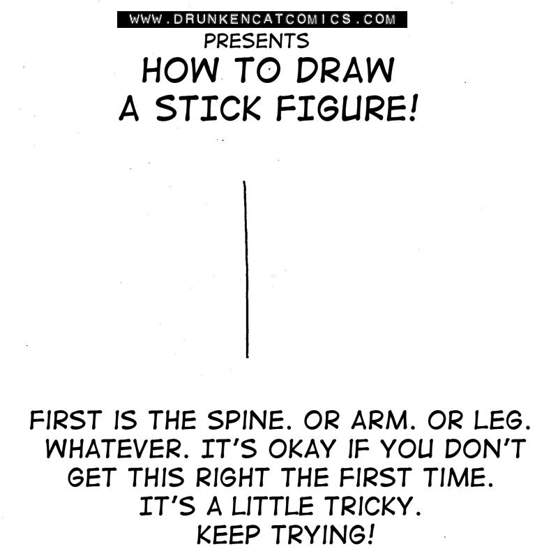 A Stick Figure: Body