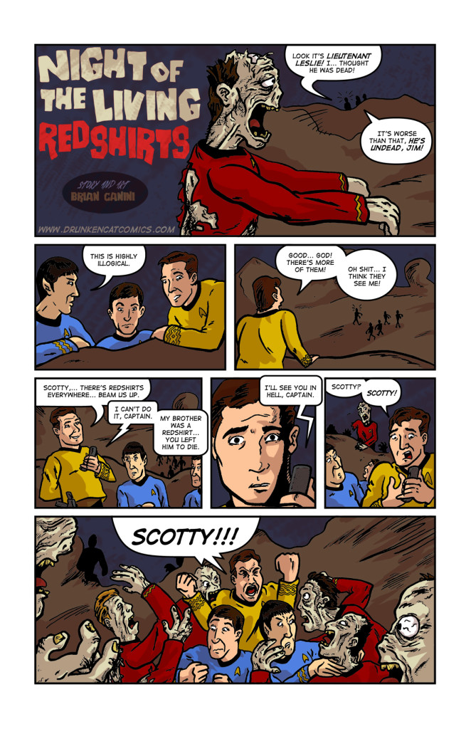 Night of the Living Redshirts