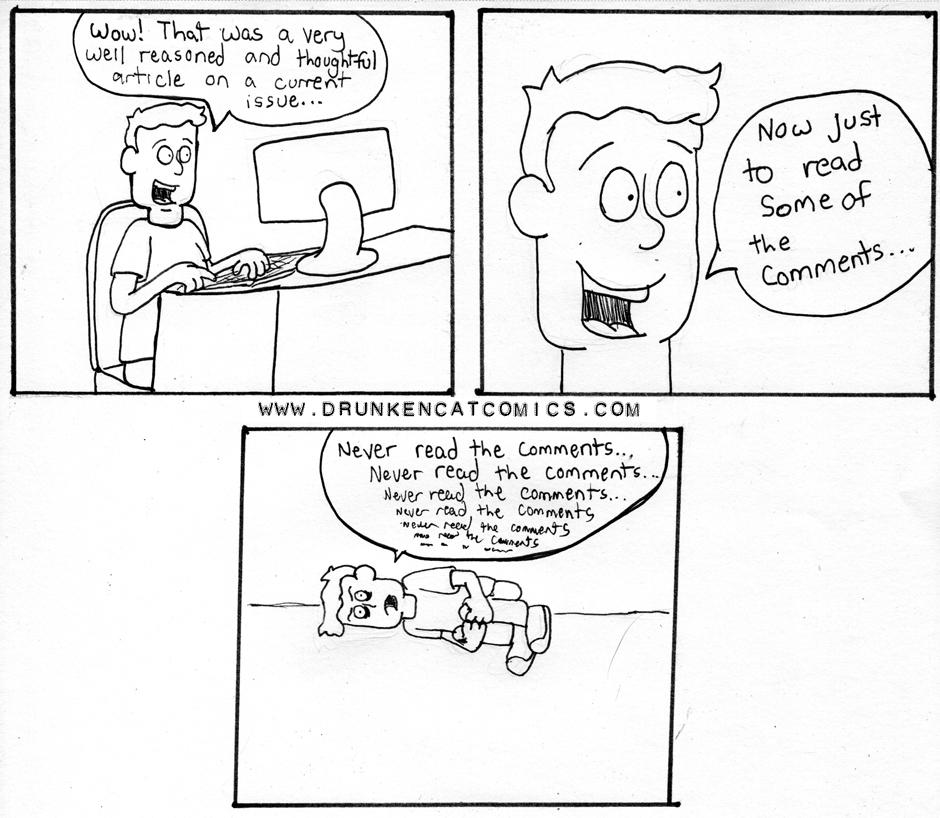 Never Read the Comics